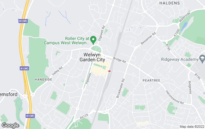 Map for Wrights of Welwyn Garden City, Welwyn Garden City - Lettings