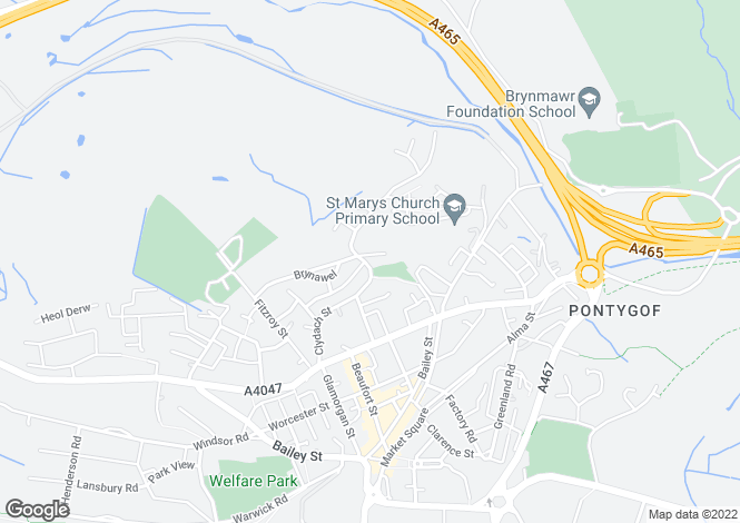 Map for Valley View,