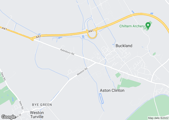 Map for Aylesbury Road, Aston Clinton, Buckinghamshire