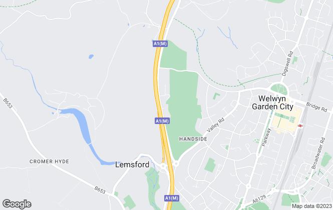 Map for Brasier Freeth, Welwyn Garden City
