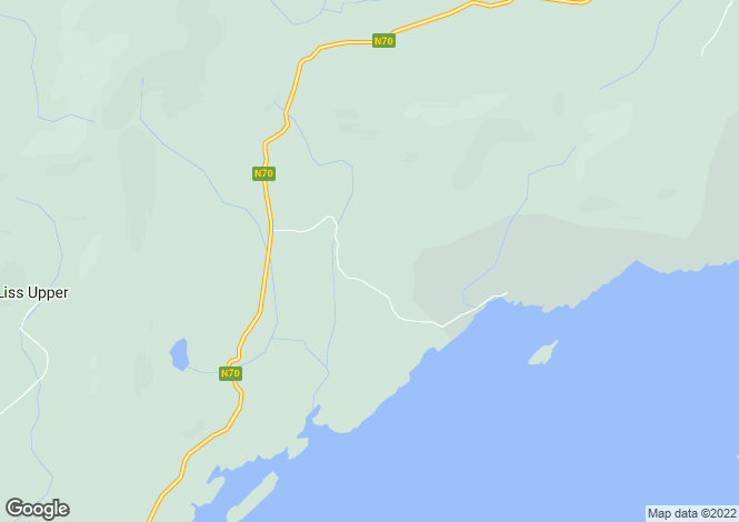 Map for Kerry, Sneem