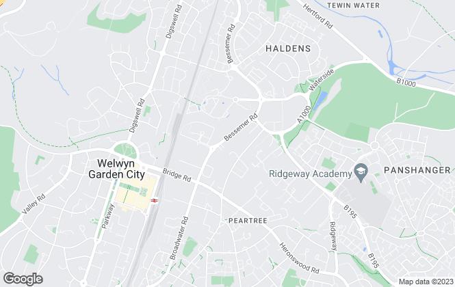 Map for Spencer James Estates Ltd, Welwyn Garden City