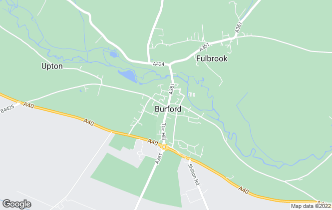 Map for Jackson-Stops & Staff, Burford
