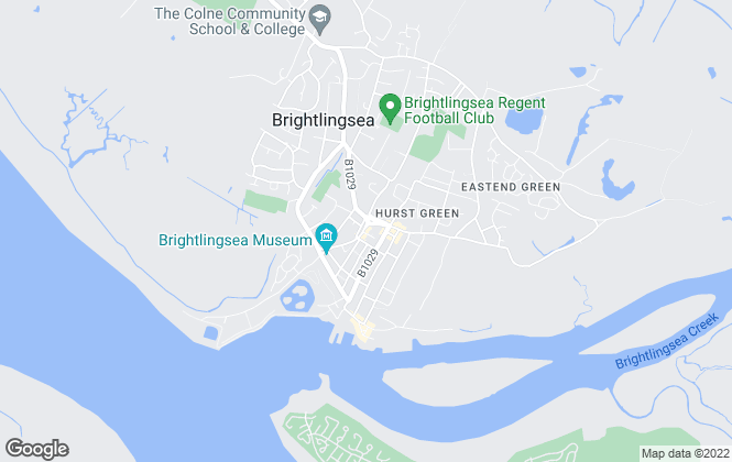 Map for Lucas Estate Agents, Brightlingsea
