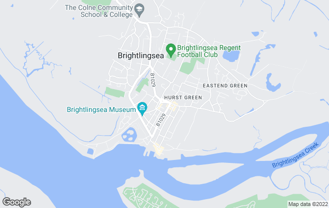 Map for Town & Country Residential, Brightlingsea