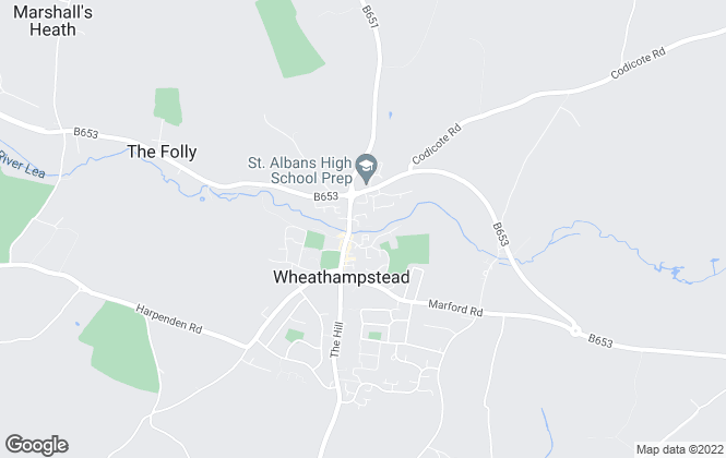 Map for Stimpsons, Welwyn Garden City