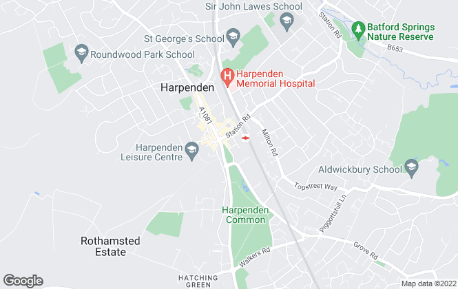 Map for Classic Sovereign , Harpenden