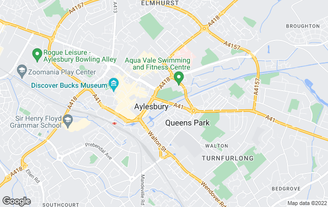 Map for Smart Move Residential Sales & Lettings, Aylesbury