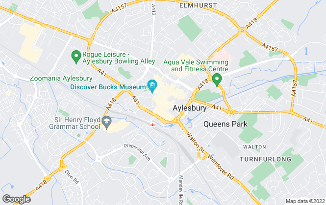 Map for Chancellors , Aylesbury New Homes