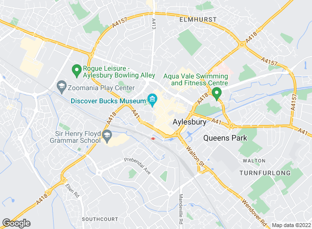 Map for Michael Graham, Aylesbury