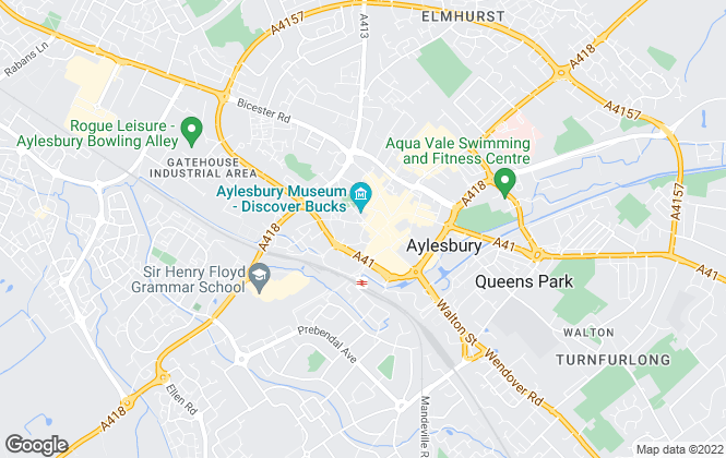 Map for Temples Estate Agents, Aylesbury