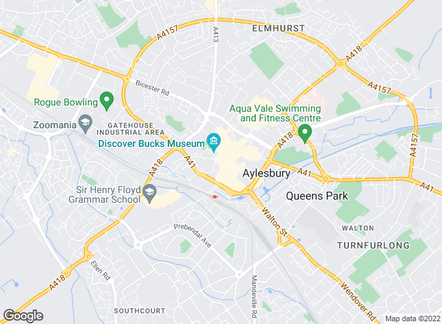 Map for Mortimers Estate Agents, Aylesbury