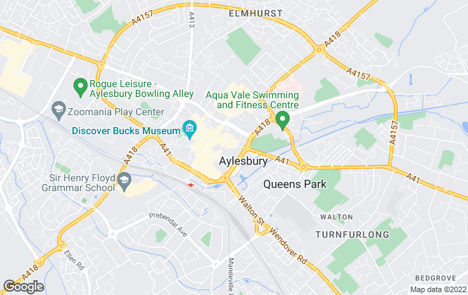 Map for George David & Co, Aylesbury