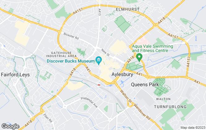 Map for Neil Douglas, Aylesbury