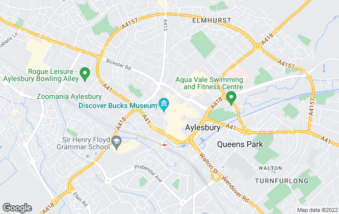 Map for Michael Anthony, Aylesbury