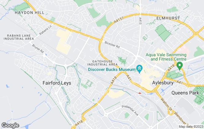 Map for Caldecotte Group, Milton Keynes