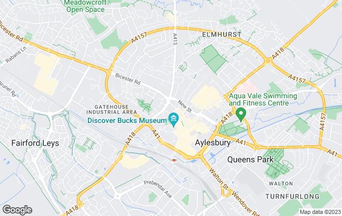 Map for Woodholls, Aylesbury
