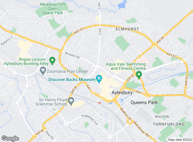 Map for Touchstone Residential Lettings, Aylesbury