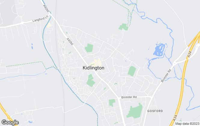 Map for Alistair Redhouse Estate Agents Ltd, Kidlington