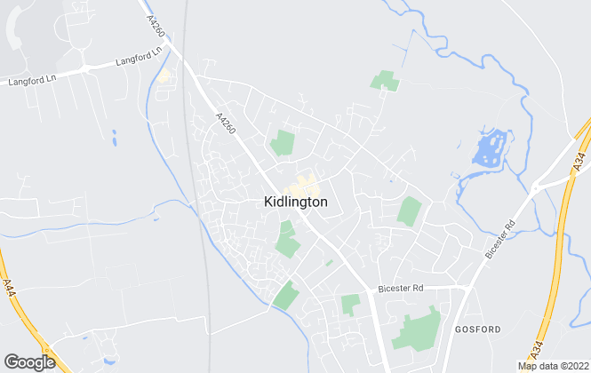 Map for Chancellors , Kidlington New Homes Sales
