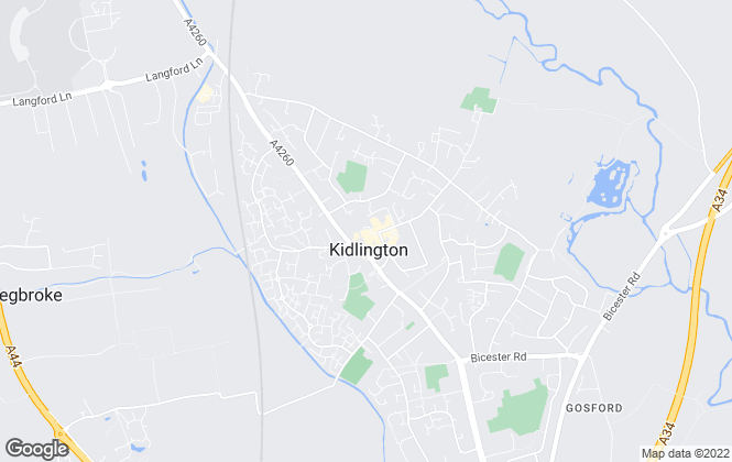 Map for Chancellors, Kidlington - Lettings