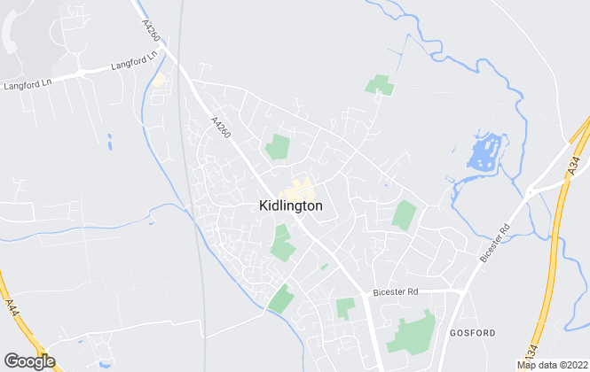 Map for Alistair Redhouse Estate Agents Ltd, Kidlington