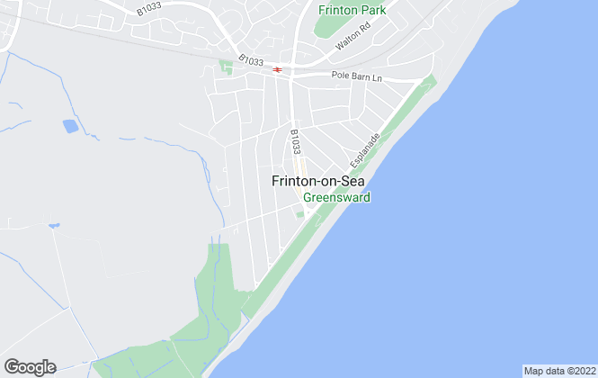 Map for Rouse Estate Agents, Frinton on Sea