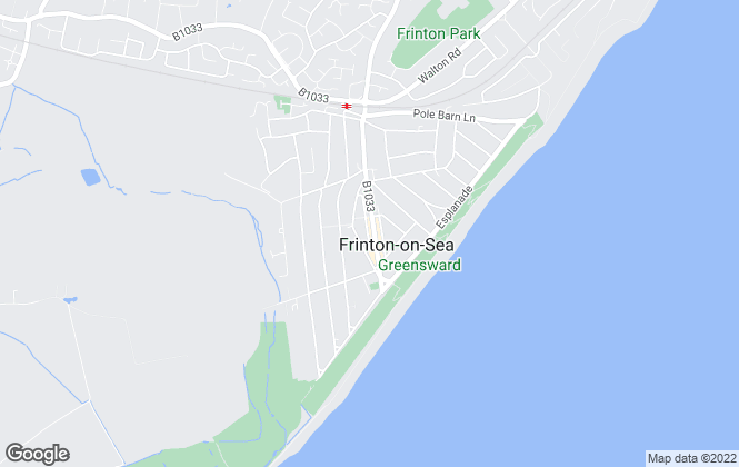 Map for Boydens, Frinton-on-Sea