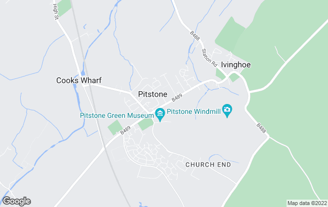 Map for Plumm Property, Pitstone