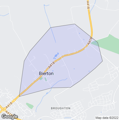 Map of property in Bierton