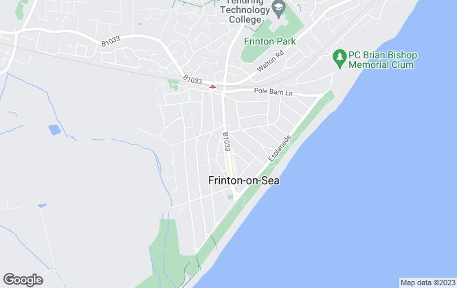 Map for Paveys Estate Agents Ltd , Frinton On Sea
