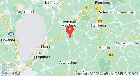 map of Velmerstot (Germany)