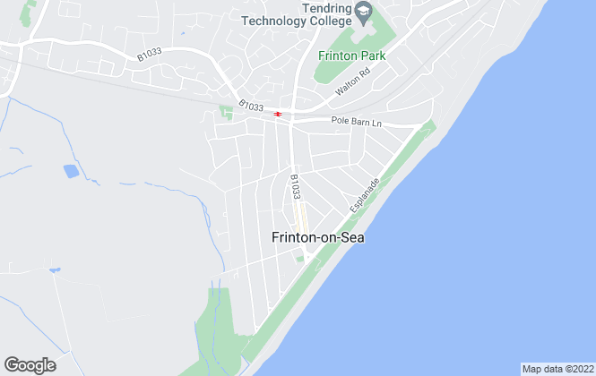 Map for Priory Estates, Frinton On Sea