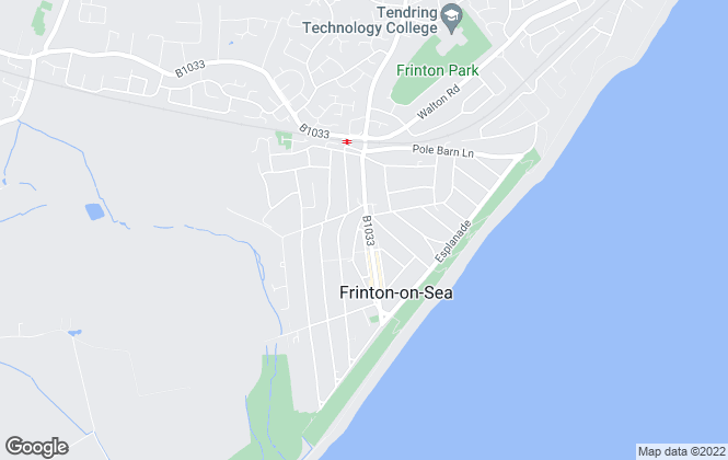 Map for Bairstow Eves, Frinton on Sea