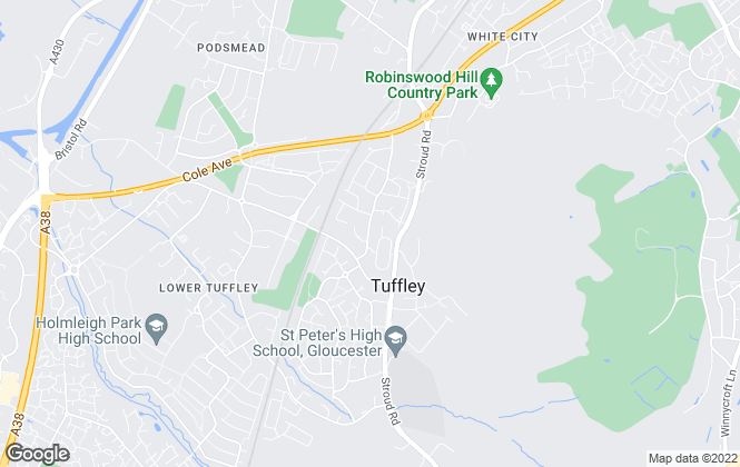 Map for The Property Centre, Tuffley