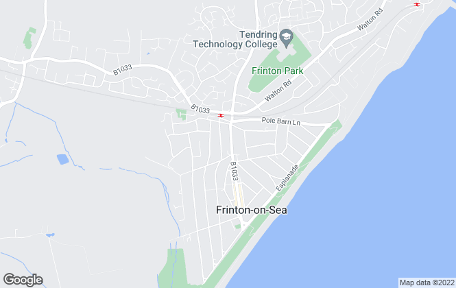 Map for Sheen's, Frinton-On-Sea