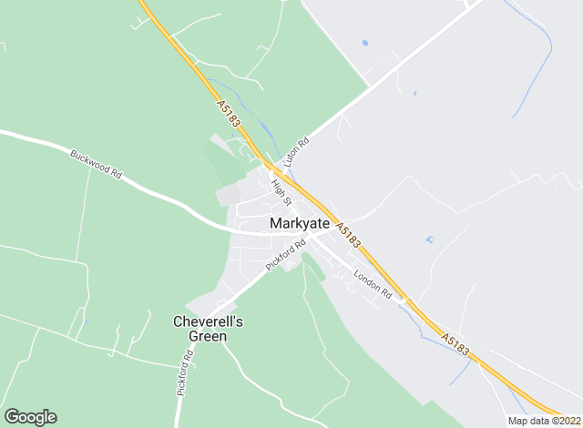Map for Town & Country, Markyate