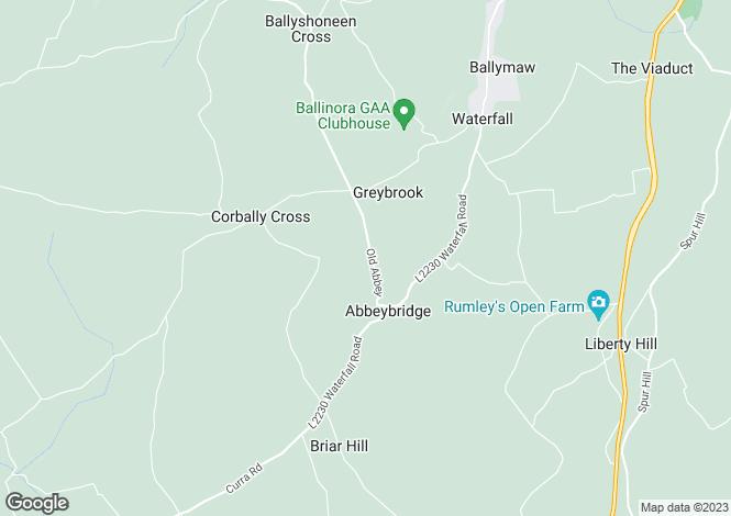 Map for Ballymacadane, Old Abbey, Waterfall, Near Cork, T12 CPN7