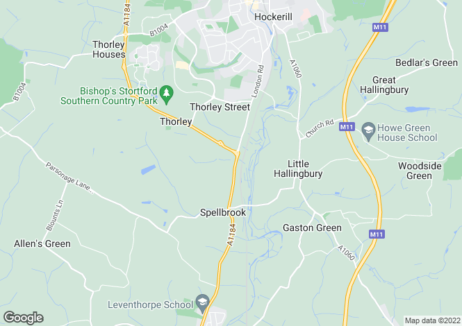 Map for Thorley Wash Business Centre, Thorley, Bishop`s Stortford, Hertfordshire, CM23 4AT