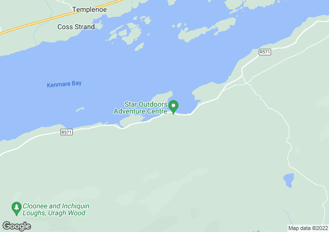 Map for Kenmare, Kerry
