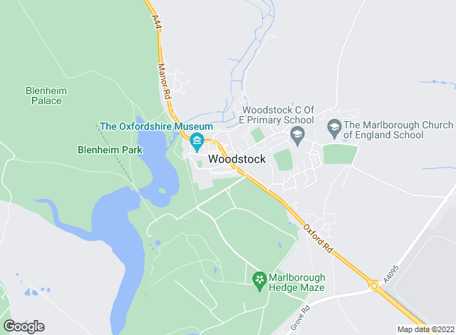 Map for Breckon & Breckon (Letting & Management), Woodstock - Lettings