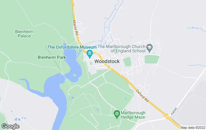 Map for Breckon & Breckon, Woodstock