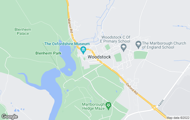 Map for Scott-Symonds, Woodstock