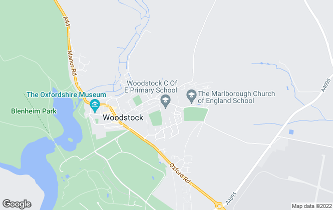 Map for Short Let Space Ltd, Woodstock
