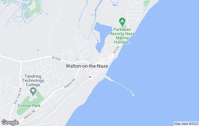 Map for Omega Property Services, Walton on Naze