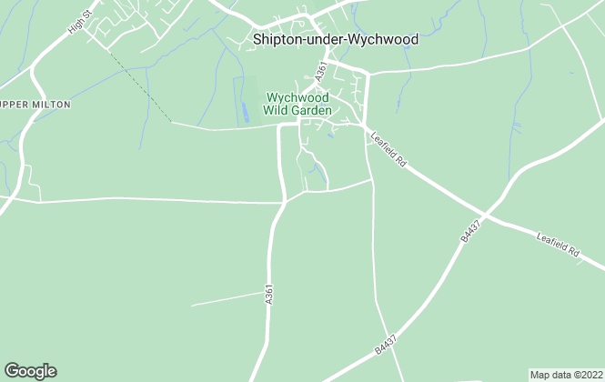 Map for Ted George Estate Agents, Shipton-Under-Wychwood