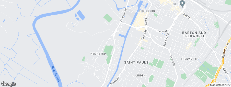Map for Hempsted Quay development by Bellway Homes Ltd