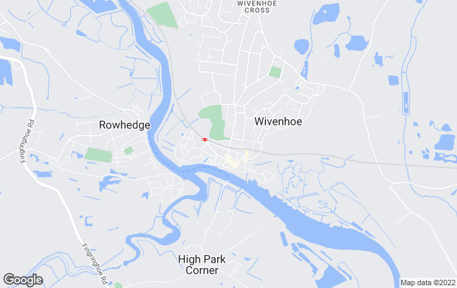 Map for Rollo Estates, Wivenhoe