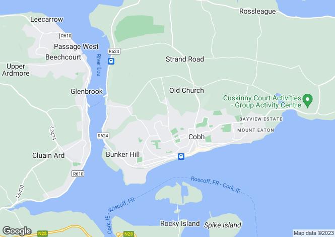 Map for Site No. 5 Ashdale, Cluain Ard, Cobh, Cork