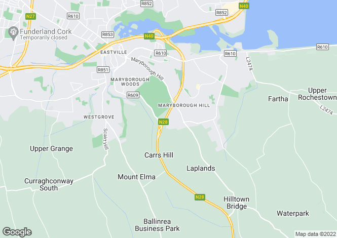 Map for An Radharc, Maryborough Ridge, Douglas, Co Cork